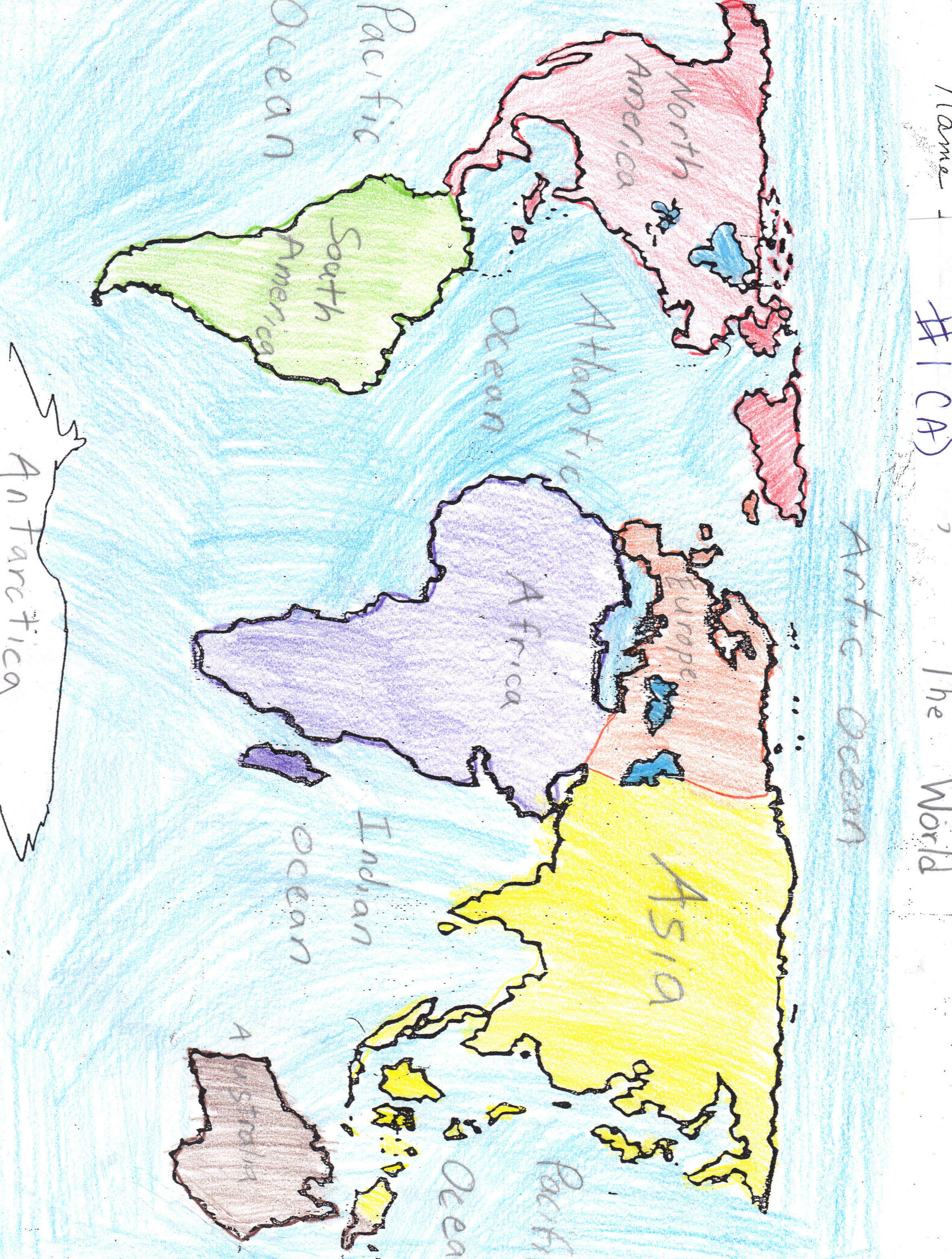 Nylearns continents and oceans by st lawrence lewis boces student map highg gumiabroncs Choice Image